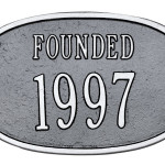 Founded Date Plaque